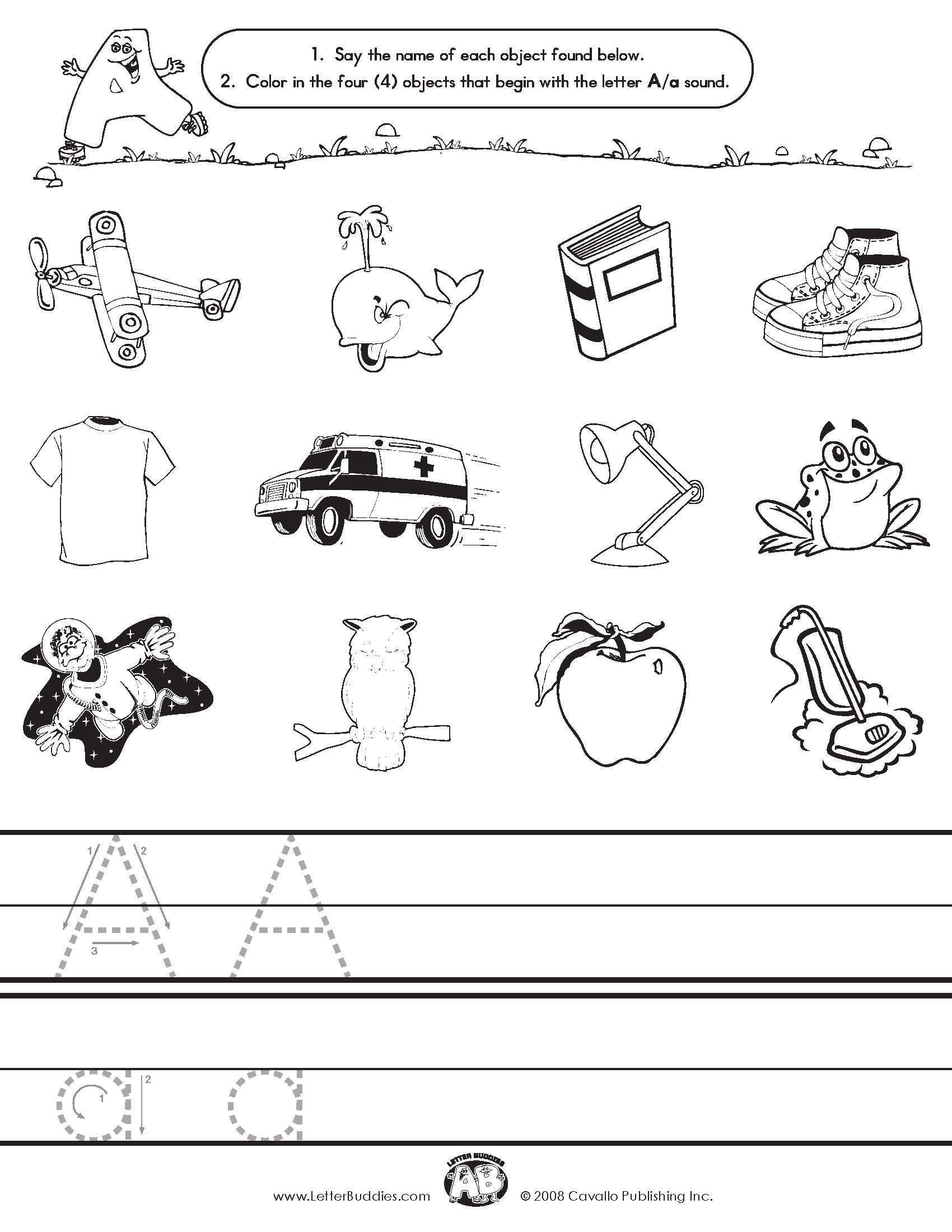 9 Best Images Of Letter Sound Matching Printables