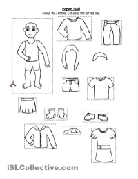 8 Best Images of Free Preschool Printables Summer Clothes ...