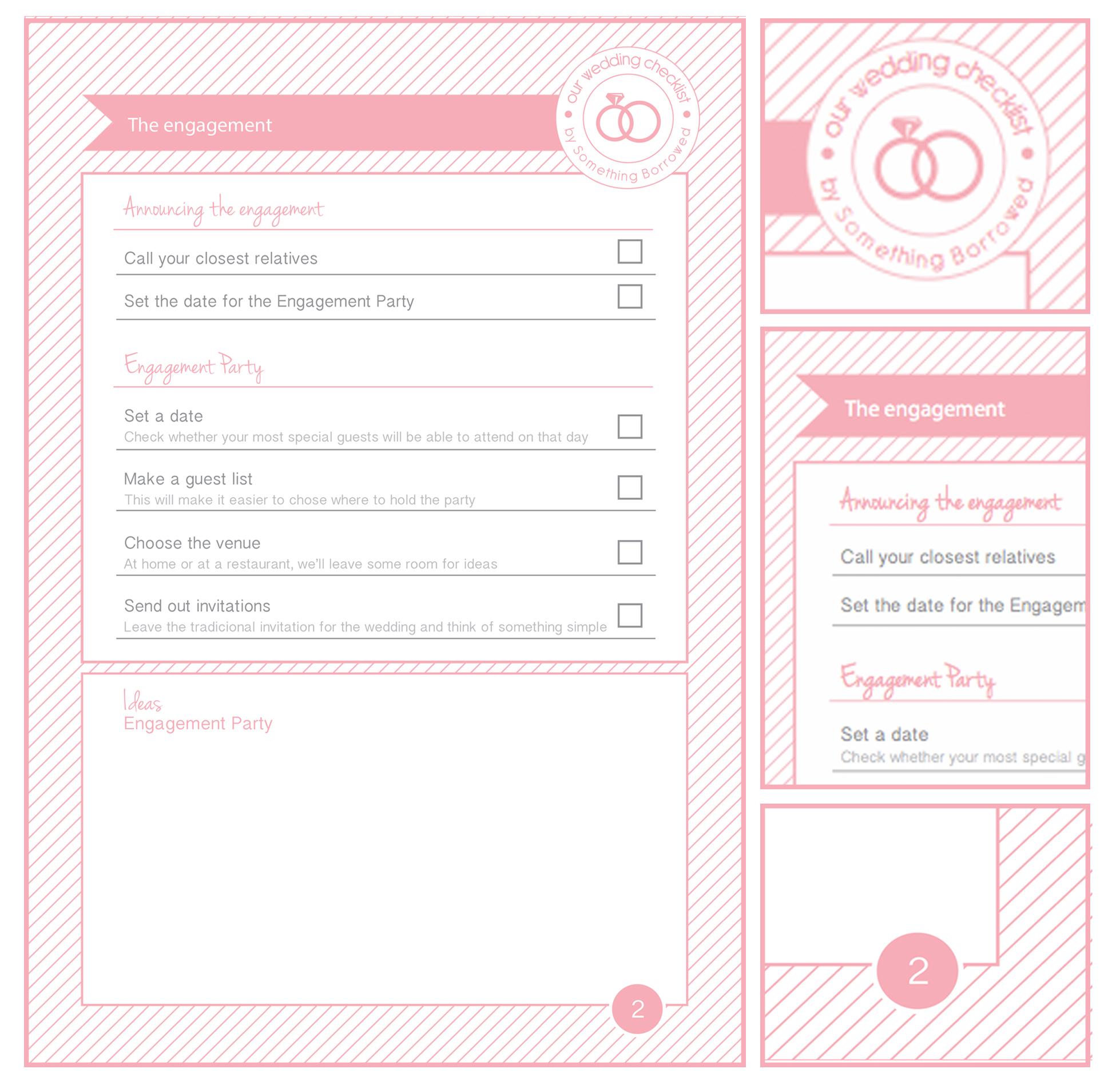 7 Best Images Of Wedding Planning Calendar Printable