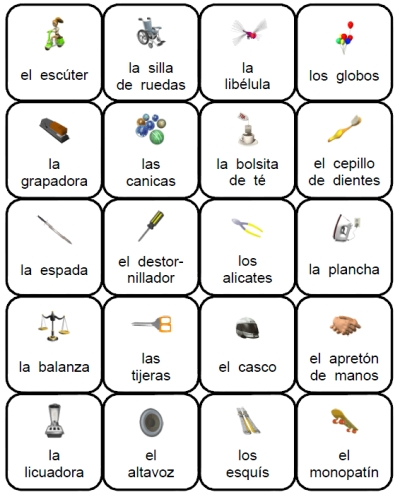 8 Best Images of Printable Spanish Vocabulary Flashcards
