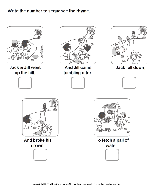 6 Best Images of Worksheets Story Sequencing Printable