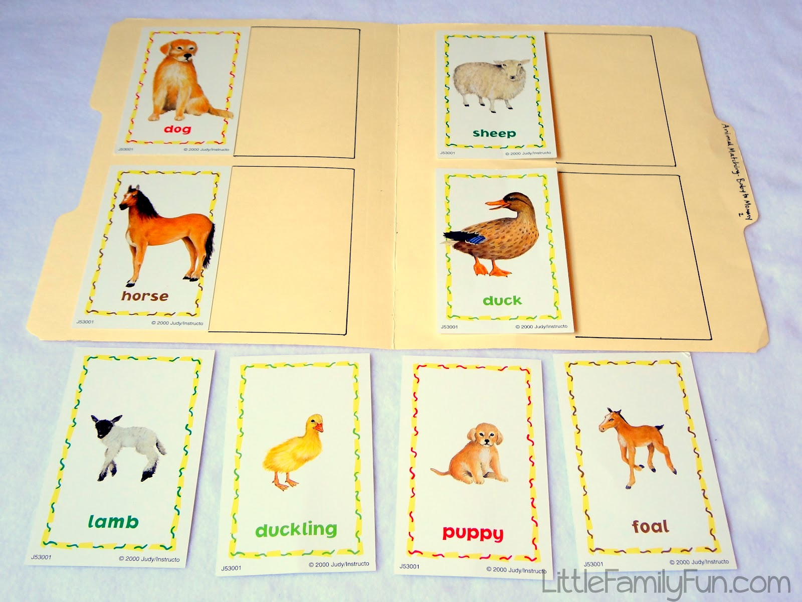 8 Best Images Of Printable Baby Animal Matching Game