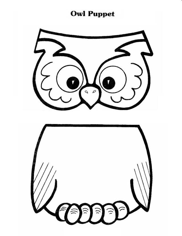 6 Best Images of Bear Paper Bag Puppet Printables