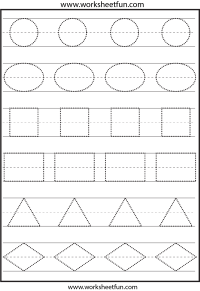 6 Best Images of Preschool Printables Shapes - Free ...