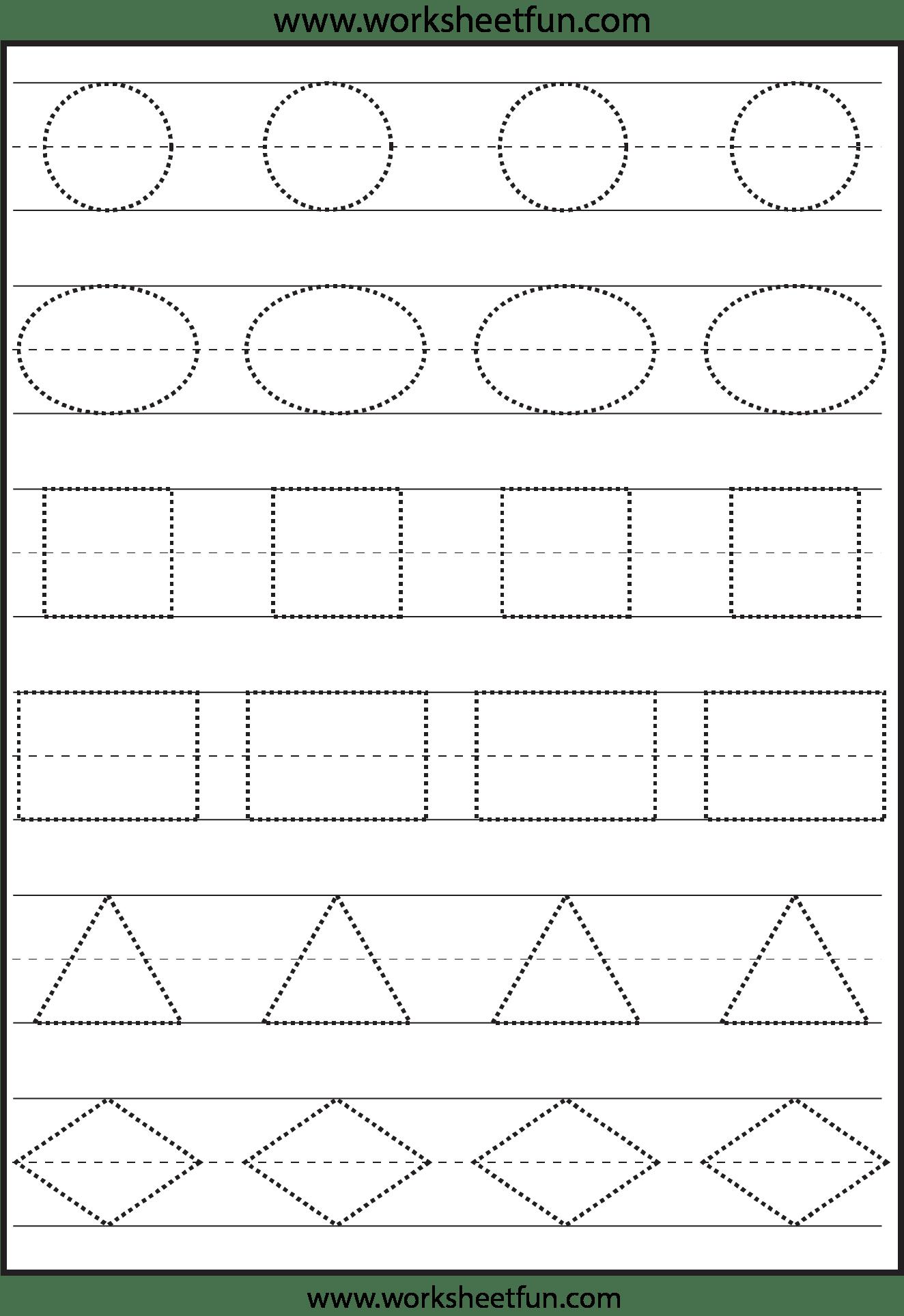 6 Best Images Of Preschool Printables Shapes