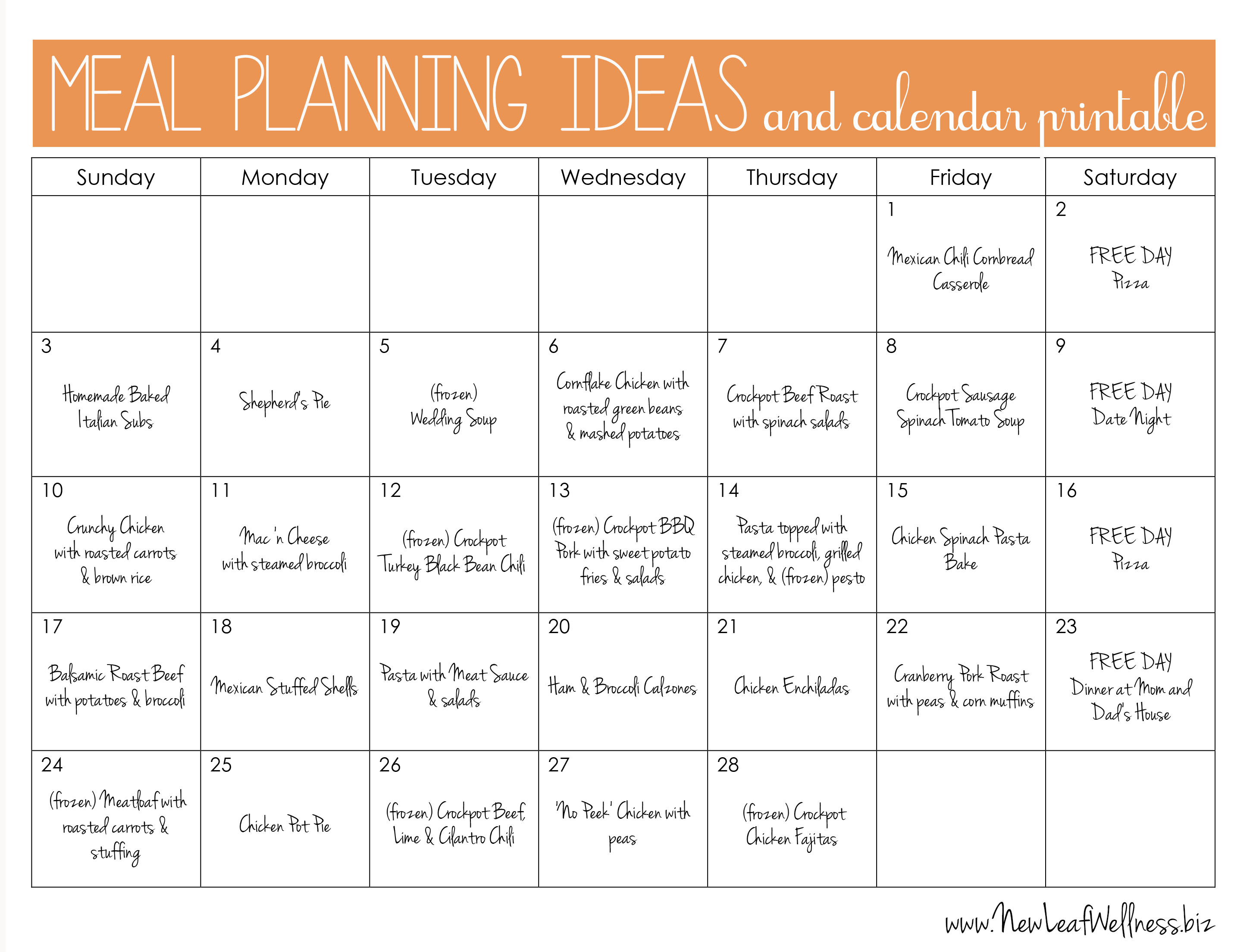 Planner Printable Images Gallery Category Page 7