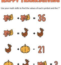 5 Best 4th Grade Math Worksheets Free Printable For Thanksgiving -  printablee.com [ 3043 x 2250 Pixel ]