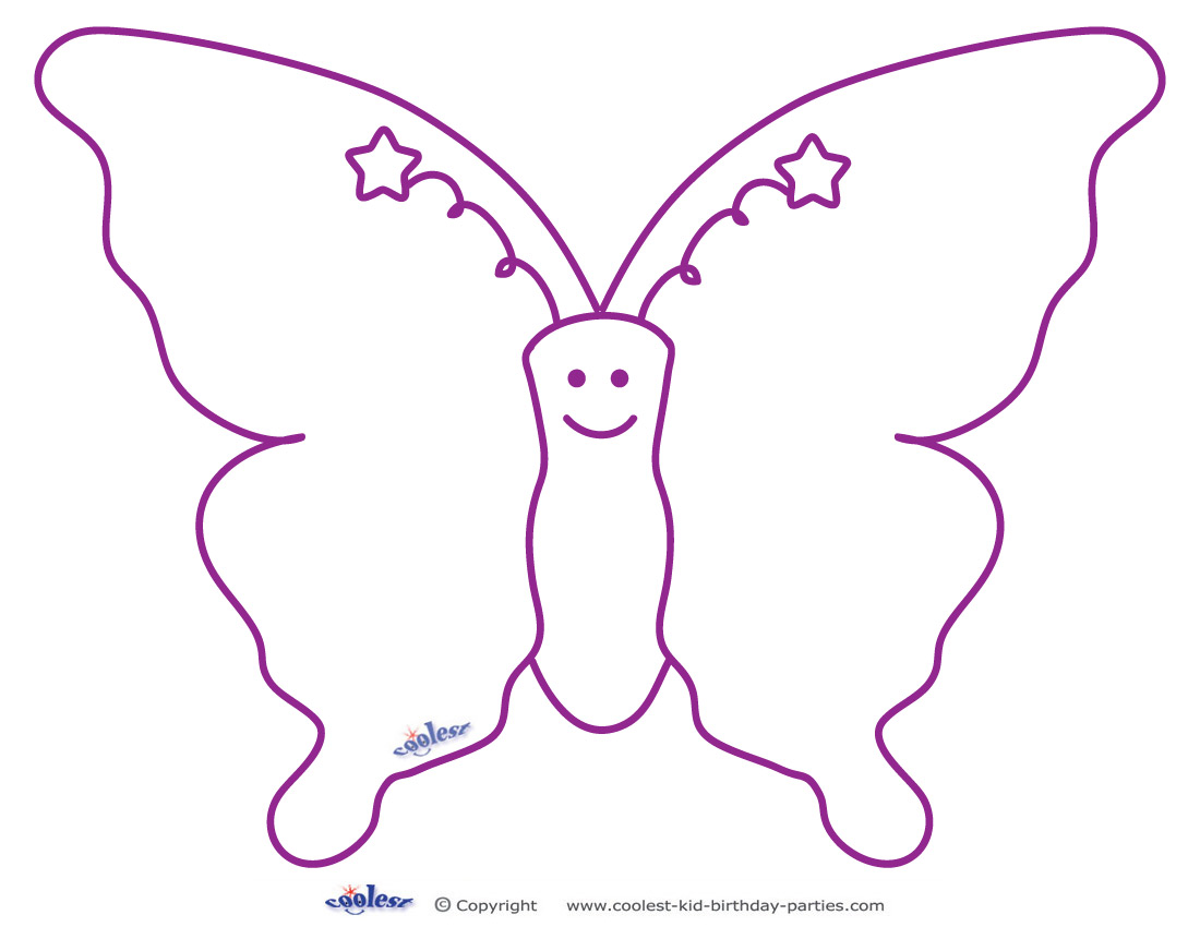 5 Best Images Of Butterfly Cutouts Printables