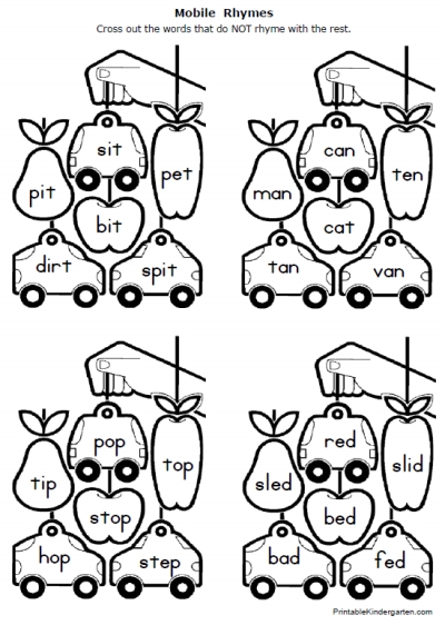 5 Best Images of 1st Grade Printable Phonics Packets