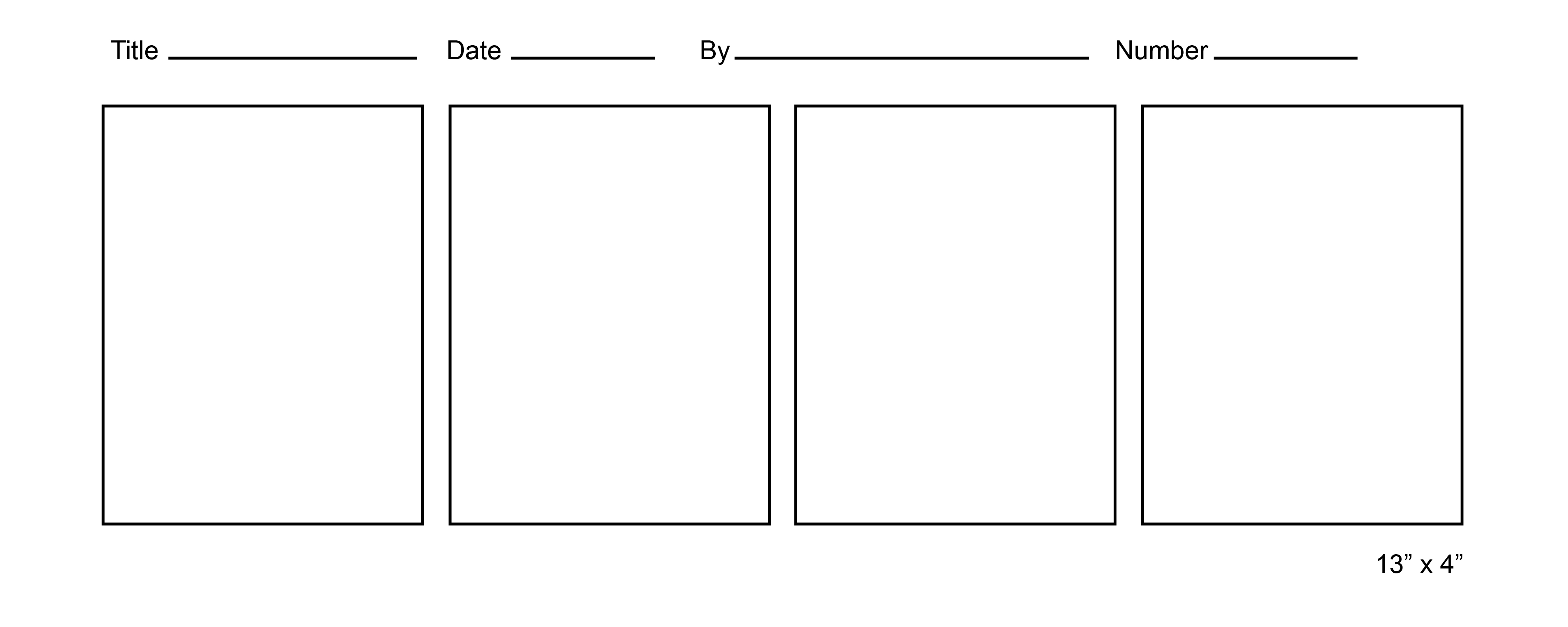 7 Best Images Of Printable Blank Comic Templates