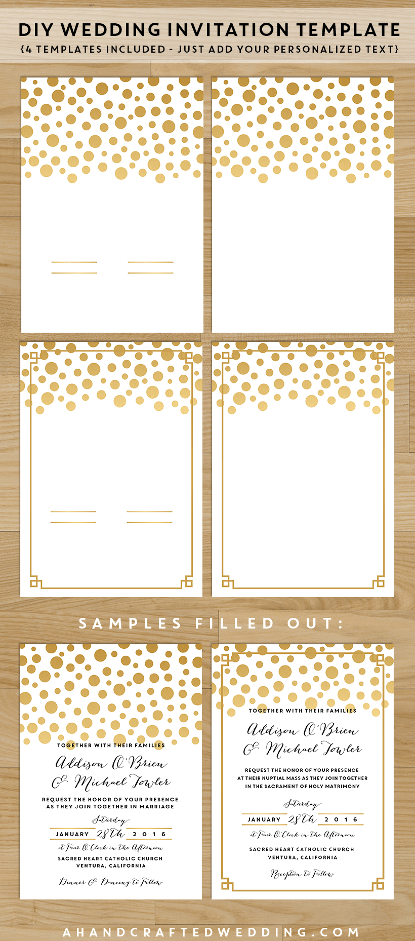 Invitation Templates Print