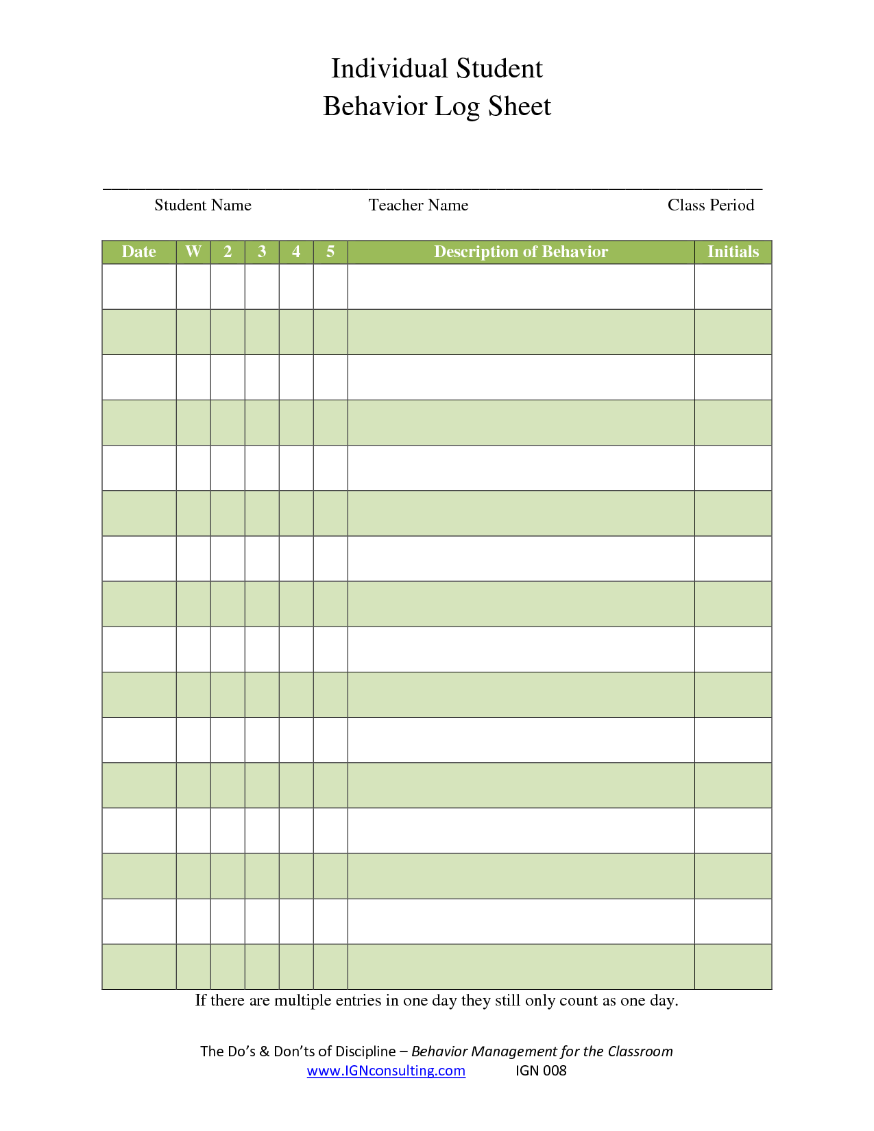 Search Results For Behavior Point Sheet Calendar