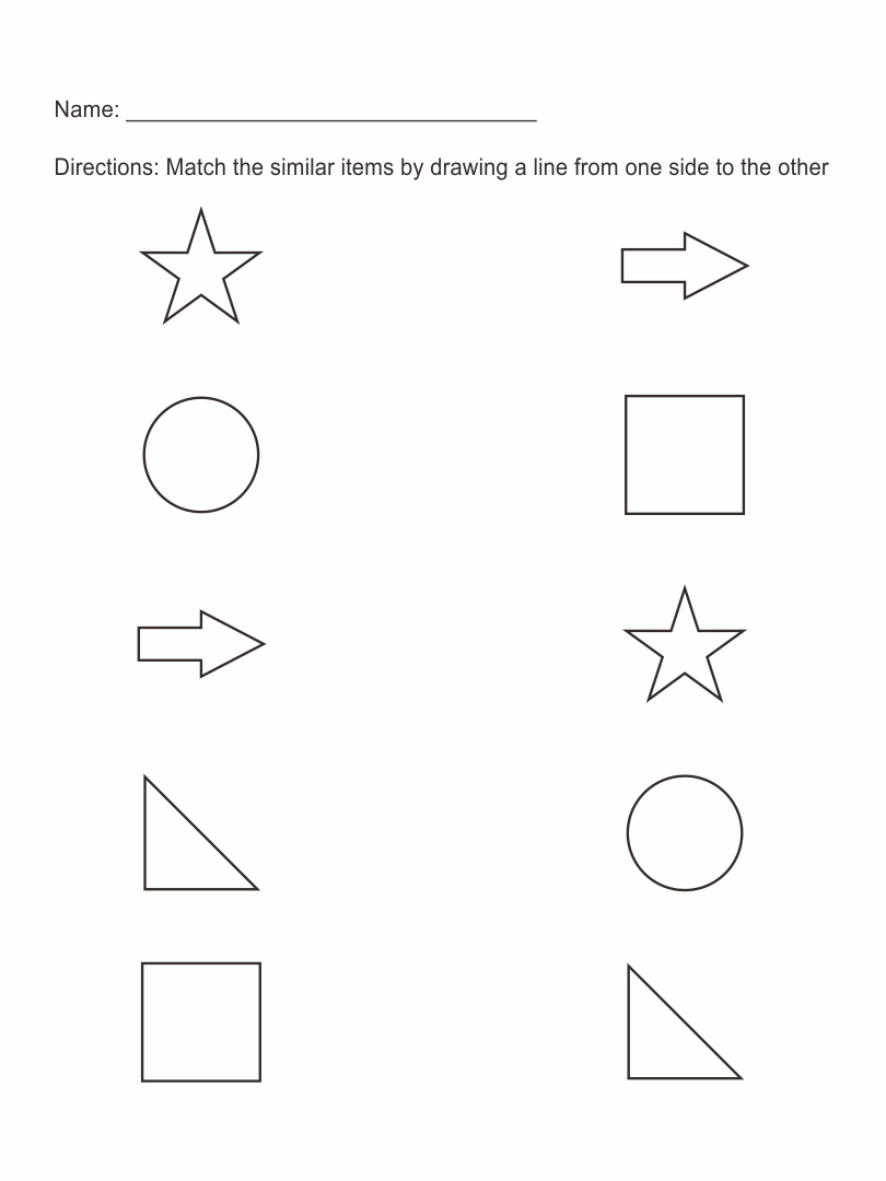 6 Best Images of Pre-K Worksheets Packets Printable