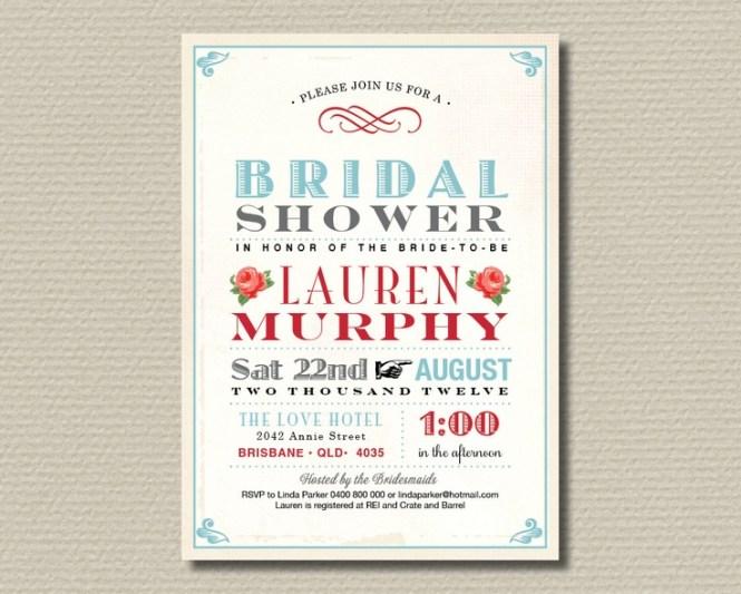 Bridal Shower Online Invitation Templates Free