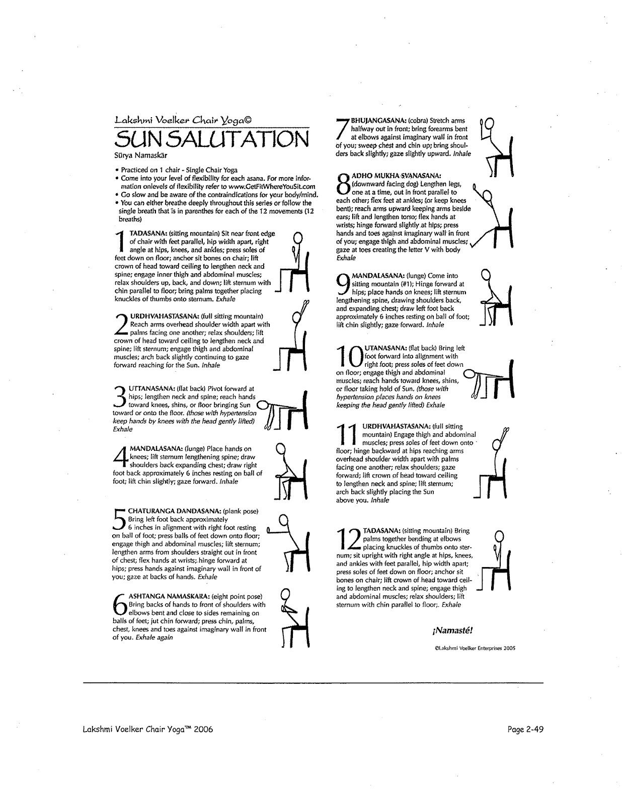 yoga chair exercises for seniors wicker sale 9 best images of printable exercise routines - free ball chart, senior ...