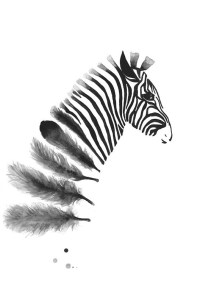 Black And White Wall Art Printables - p Wall Decal
