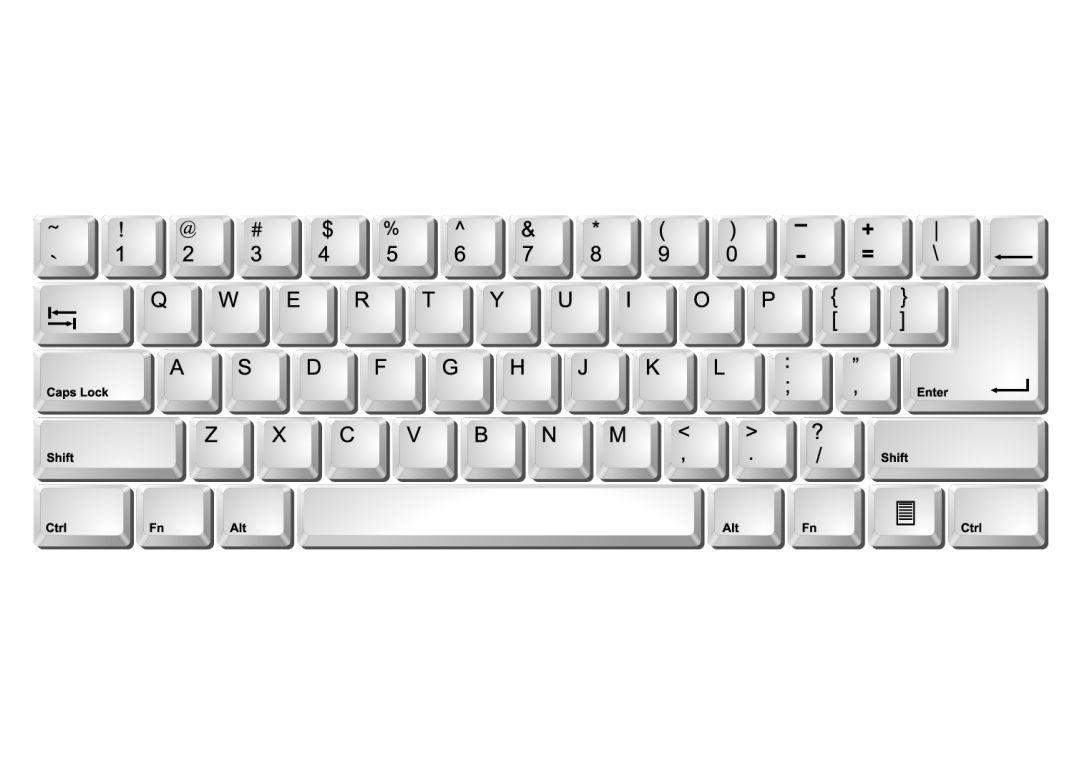 7 Best Printable Laptop Keyboard - printablee.com