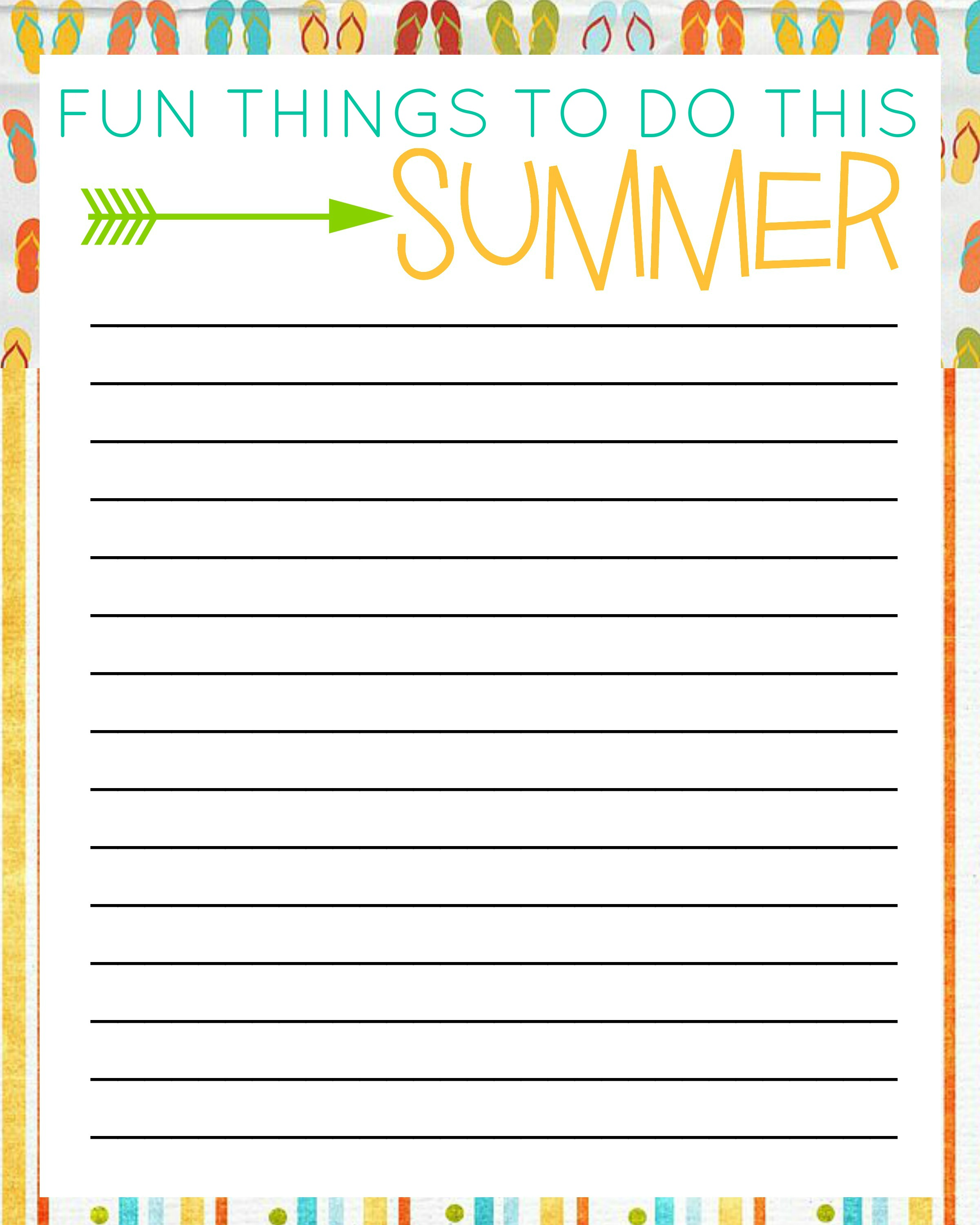7 Best Images Of Things To Do List Free Printable