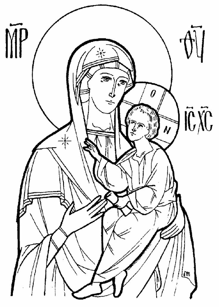 8 Best Images of Orthodox Coloring Pages Printable