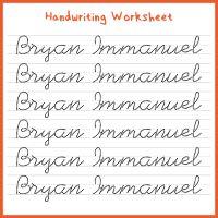 Free Writing Worksheets For Preschoolers - handwriting ...