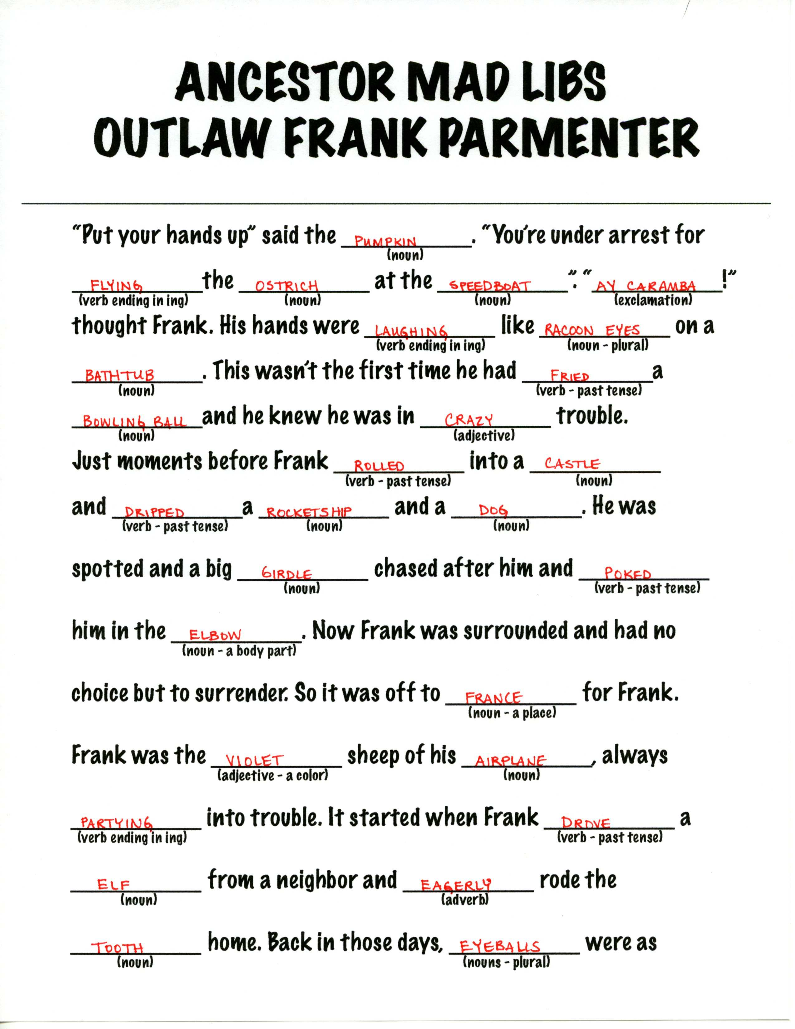 8 Best Images Of Funny Printable Mad Libs For Adults