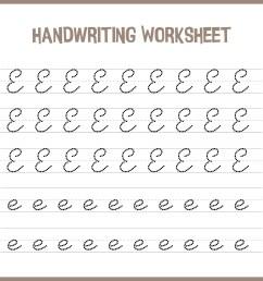 7 Best Handwriting Printable Kindergarten Worksheets - printablee.com [ 1920 x 1920 Pixel ]