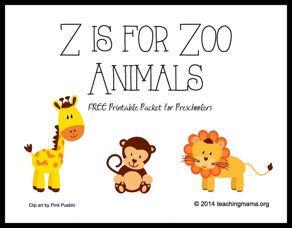 4 Best Images Of Printable Zoo Books For Preschoolers
