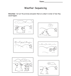 Story Sequence Worksheet   Printable Worksheets and Activities for  Teachers [ 1650 x 1275 Pixel ]