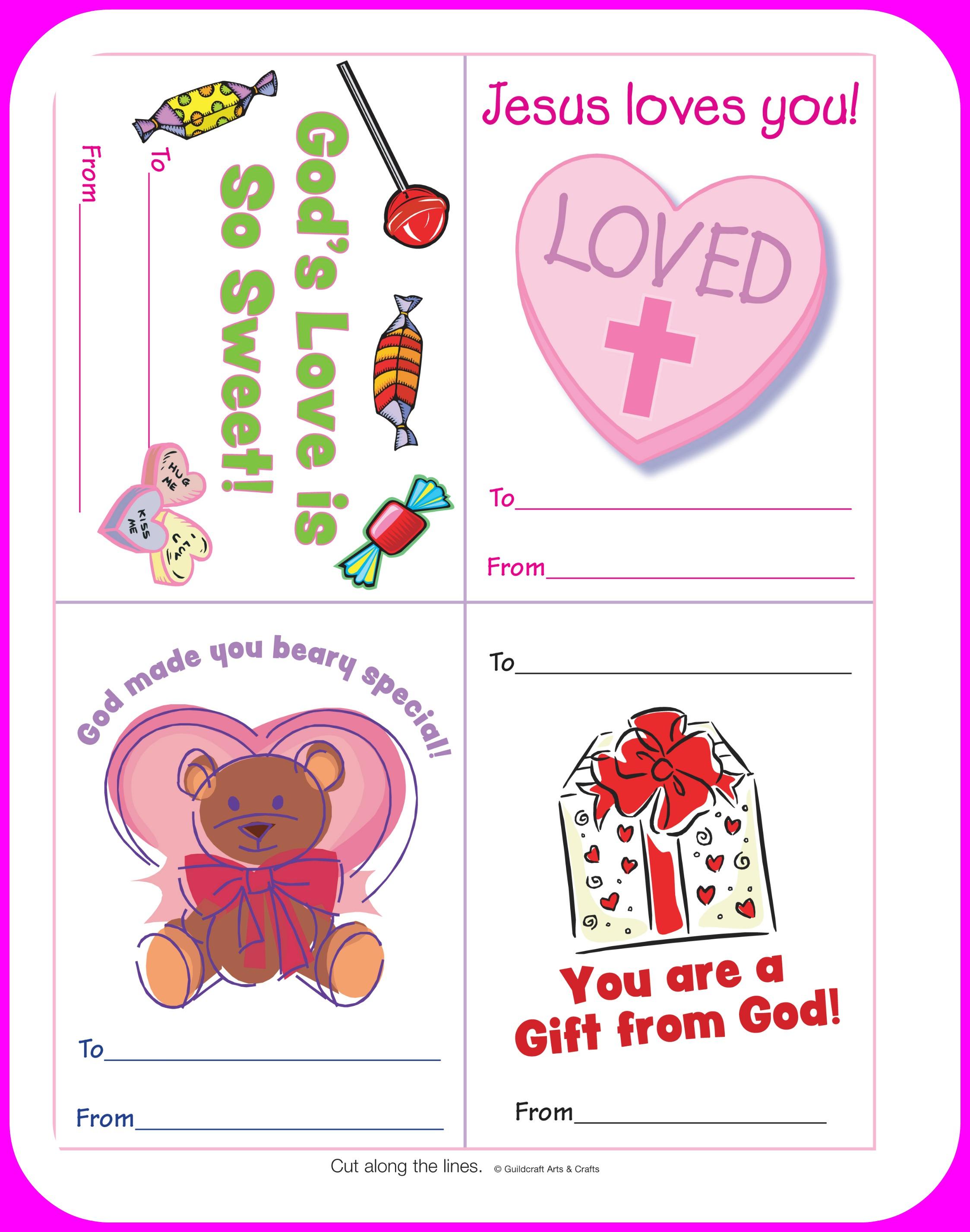 5 Best Printable Christian Valentine Craft