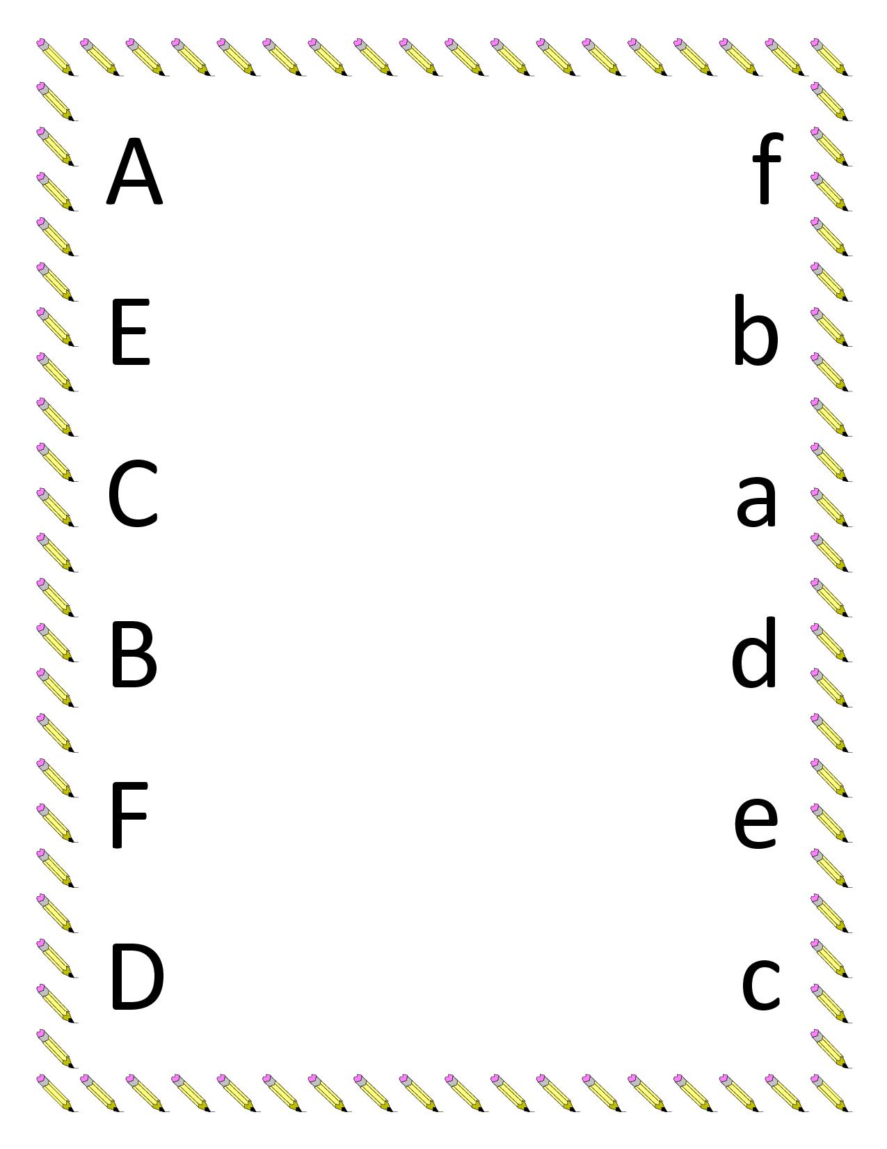 7 Best Images Of Printable Preschool Matching Worksheets