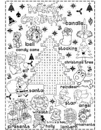 7 Best Images of Christmas Printables For Elementary