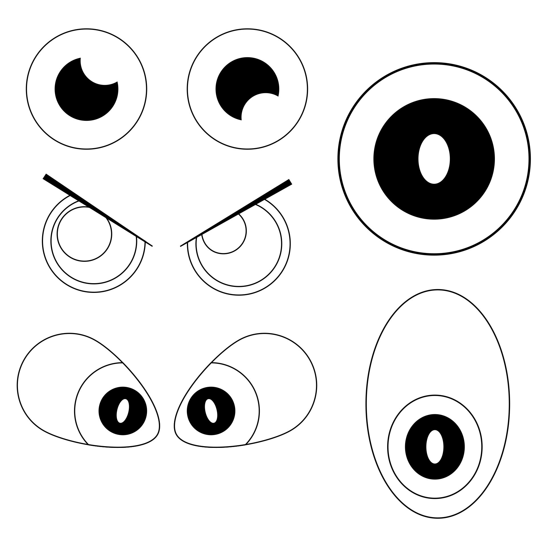 6 Best Images Of Printable Eyes Nose Mouth Templates