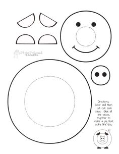 7 Best Images of Kindergarten Paper Crafts Printable