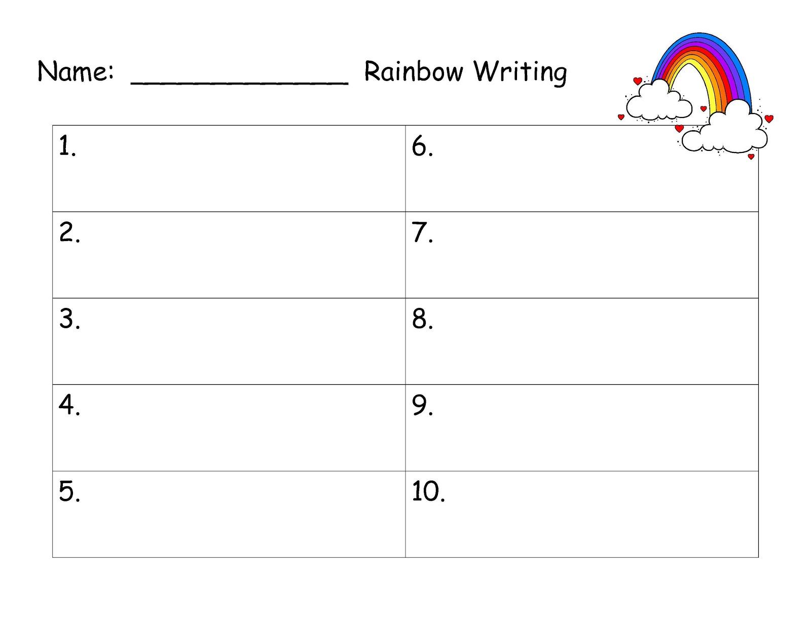 6 Best Images Of Printable Spelling Word Paper
