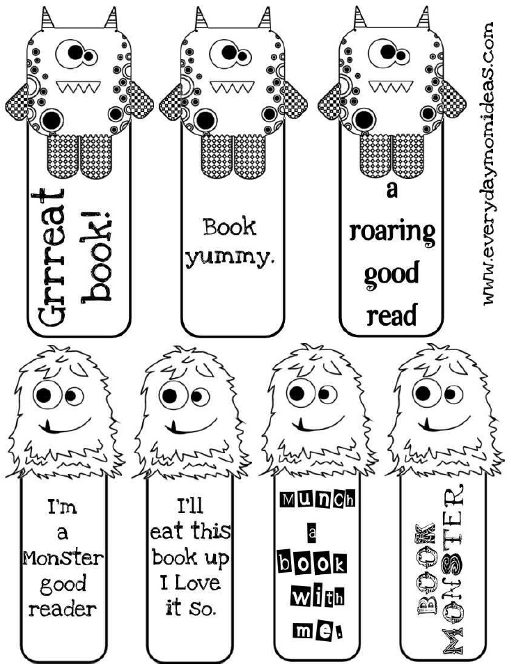 7 Best Images of Superhero Printable Bookmarks To Color