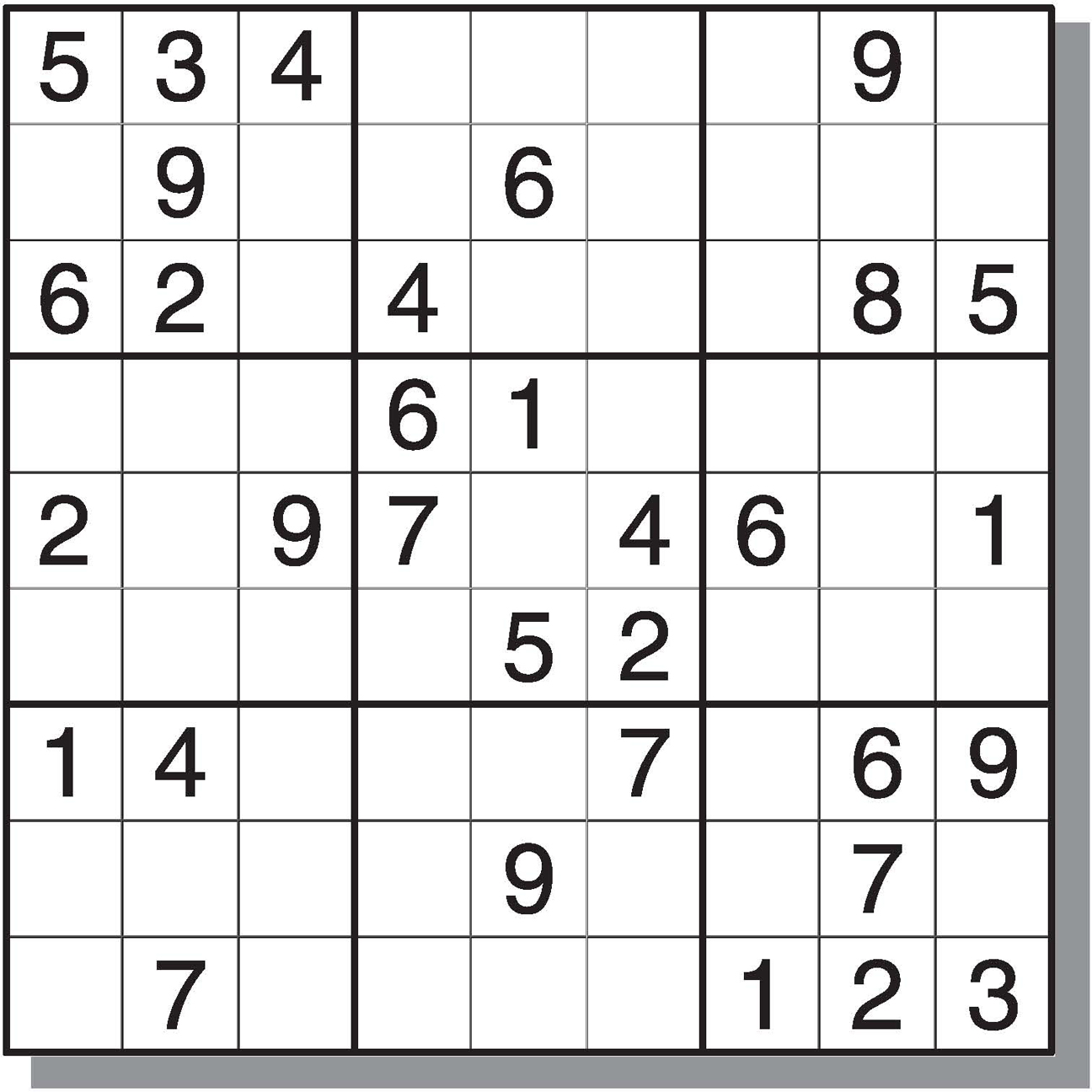 8 Best Images Of Printable Sudoku With Answers