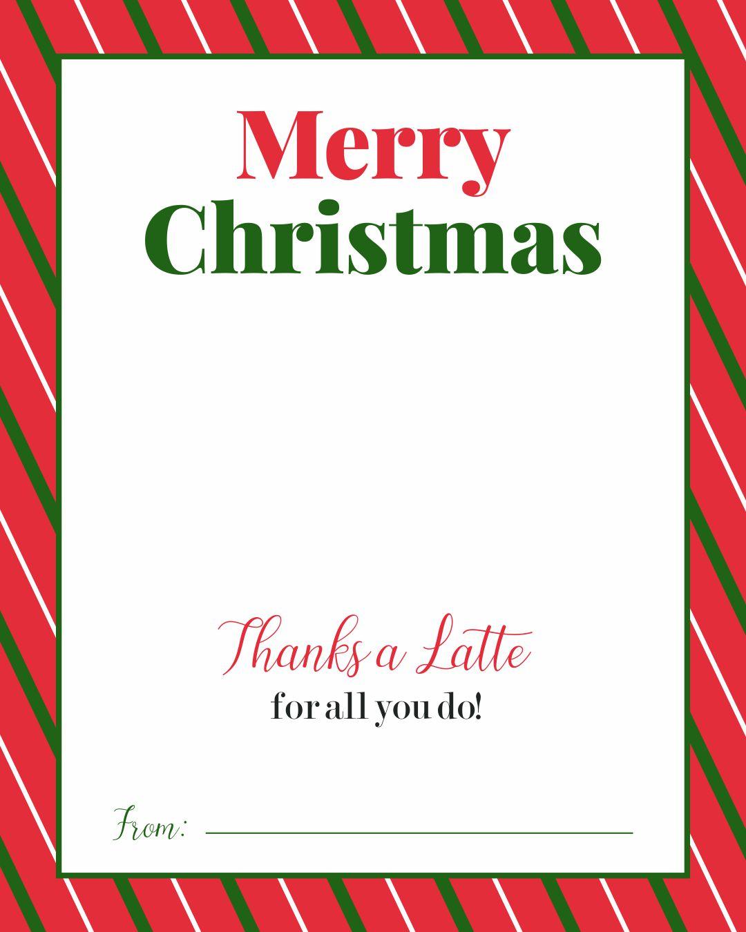 7 Best Images Of Merry Christmas Printable Teacher Gift