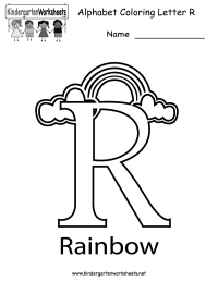 20 Awesome Preschool Worksheet Letter R Pics | WDSCreative ...