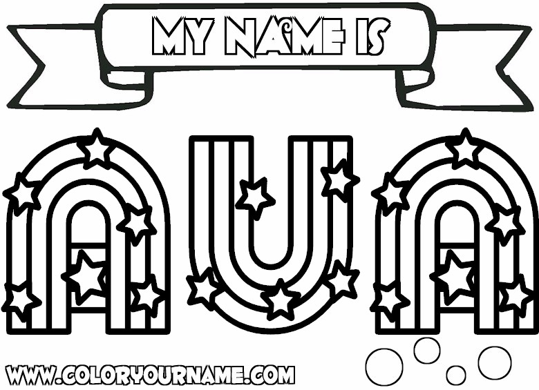 8 Best Images of Free Printable Coloring Pages With Your