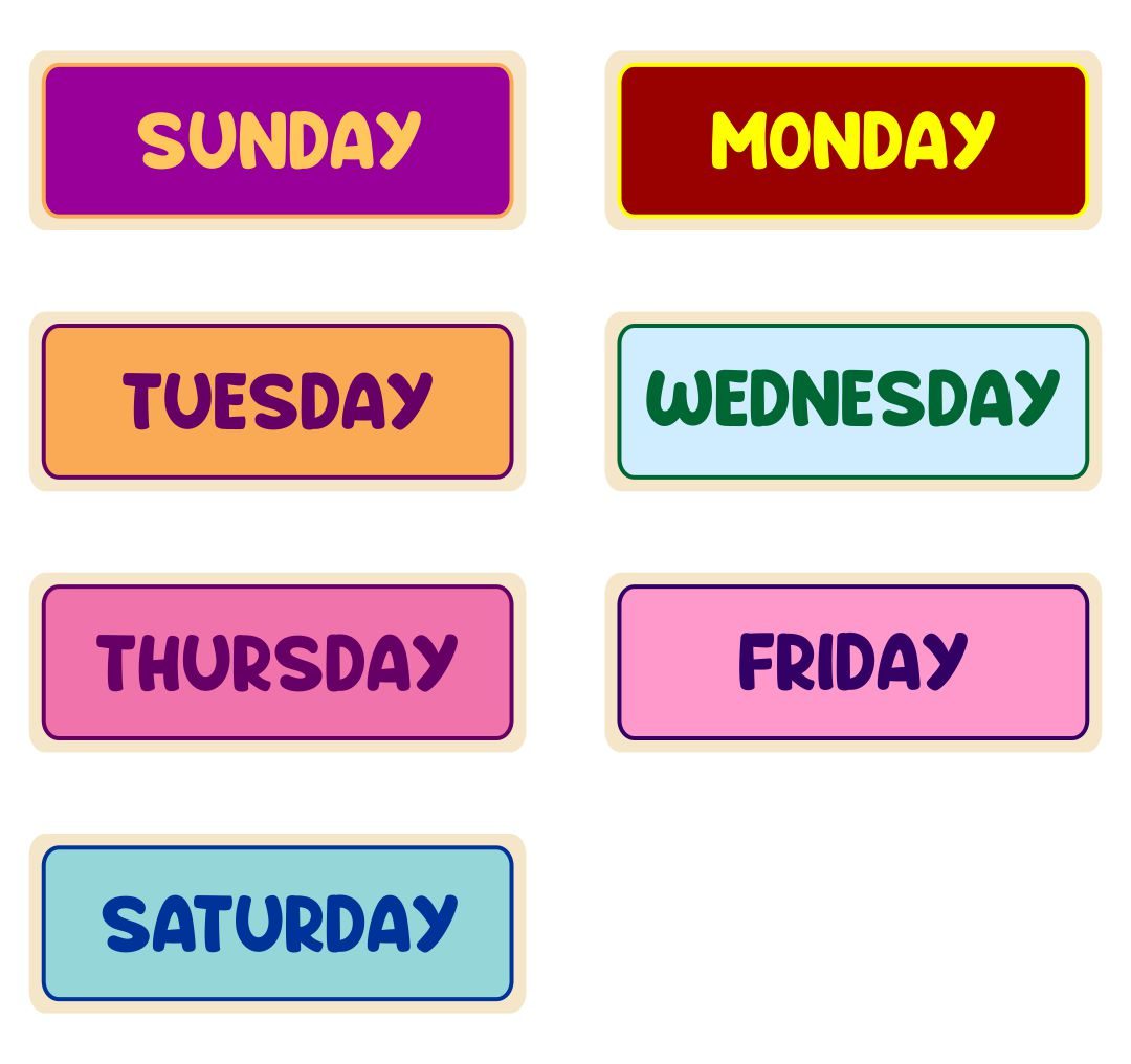 8 Best Images Of Printable Calendar Month Labels