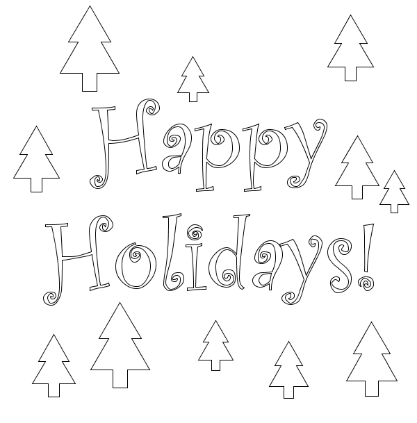 9 Best Images of Christmas Coloring Printable For Teacher
