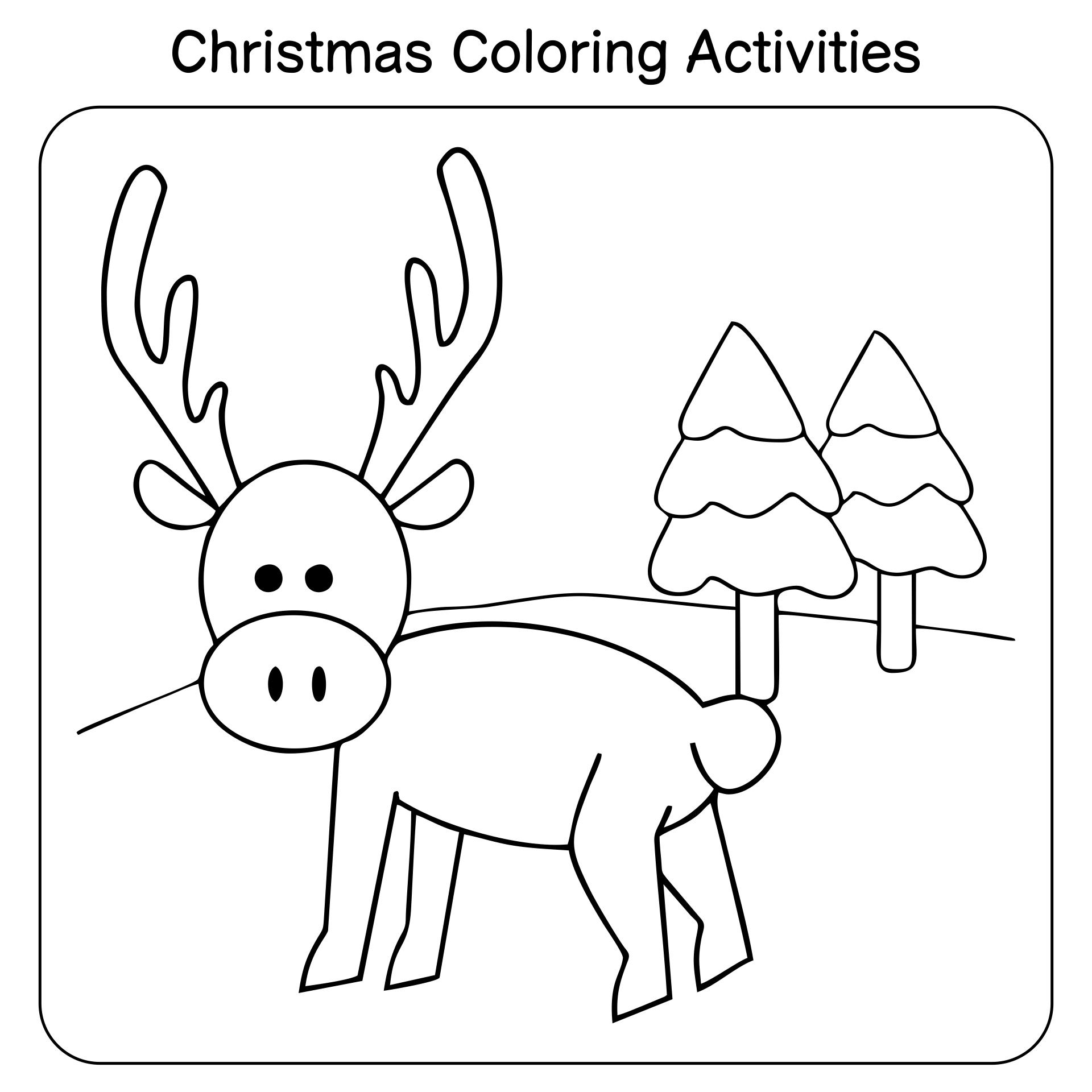 6 Best Images Of Free Preschool Christmas Activities