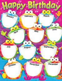 6 Best Images of Birthday Months Printable