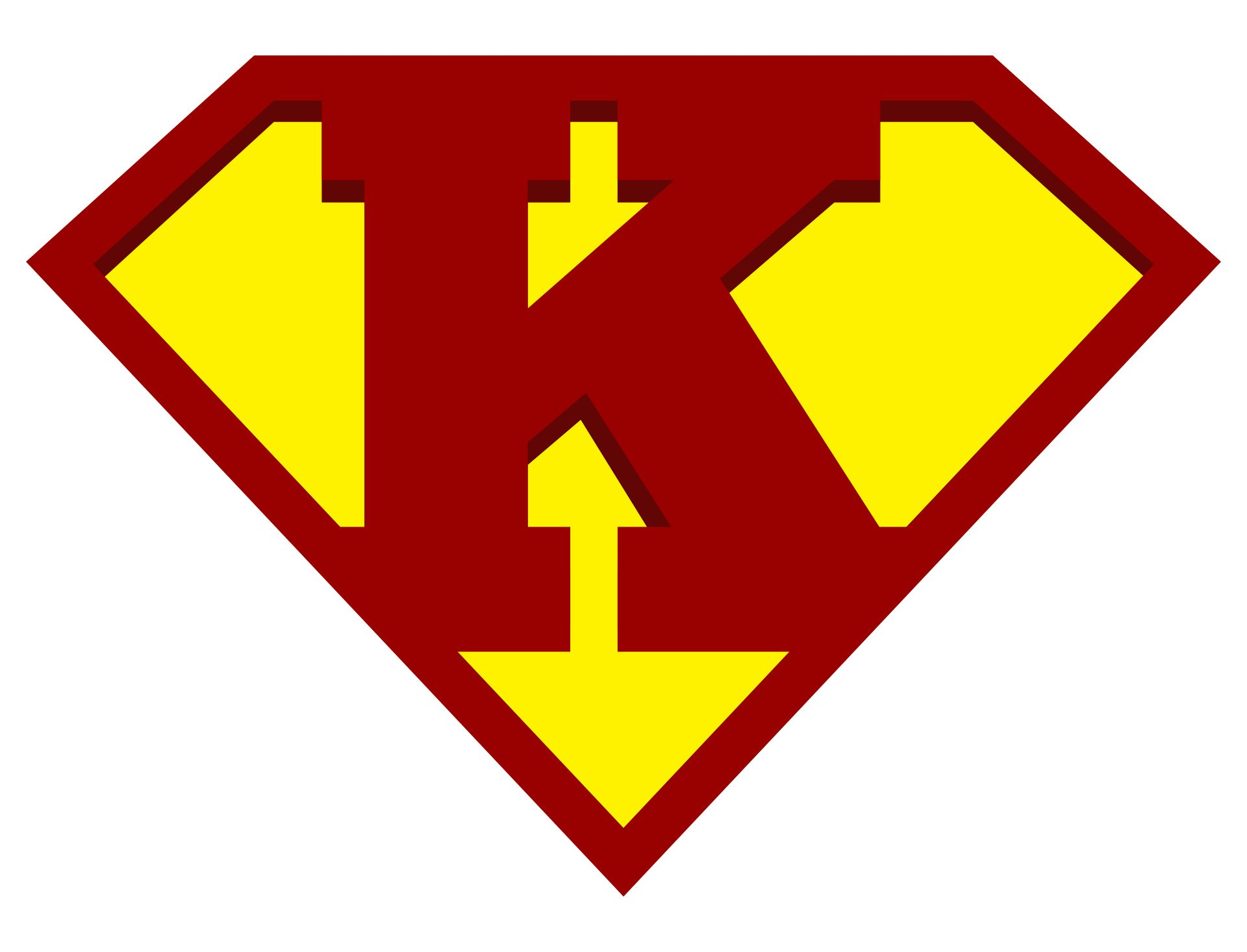 7 Best Printable Superman Logo Alphabet Printablee Com