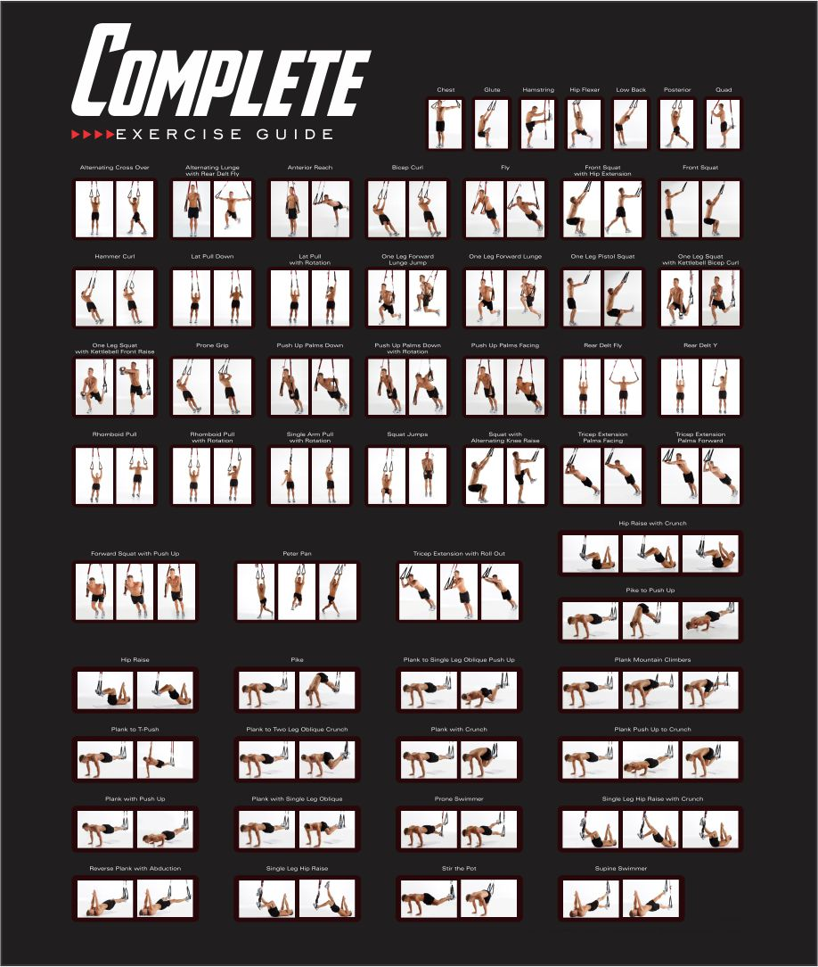 multi gym chair swing adelaide 9 best images of exercises printable - exercise chart, bands ...