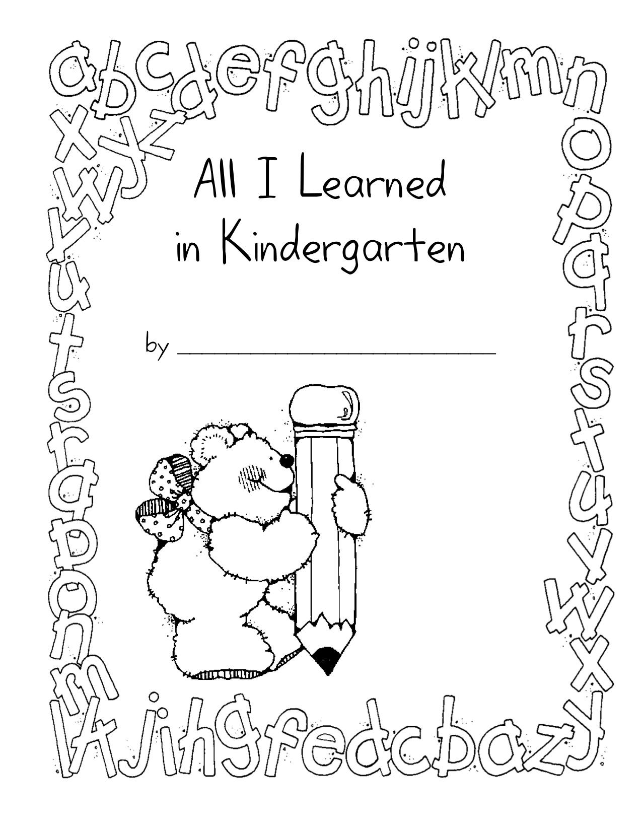 7 Best Images Of Memory Book Preschool Printables