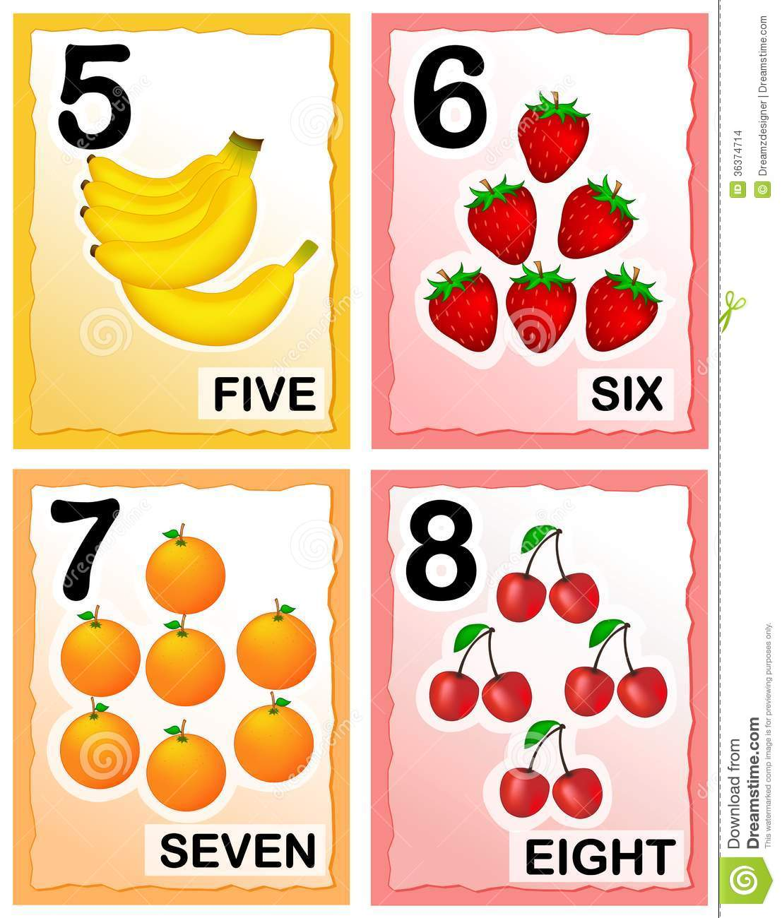 5 Best Images Of Printable Numbers For Toddlers