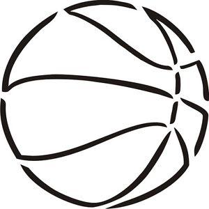 5 Best Images of Basketball Pumpkin Stencil Printable