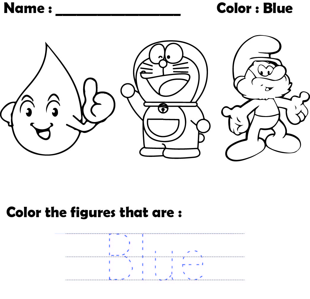 7 Best Free Printable Preschool Worksheets Colors