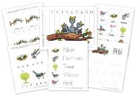 8 Best Images of Spring Theme Preschool Printables